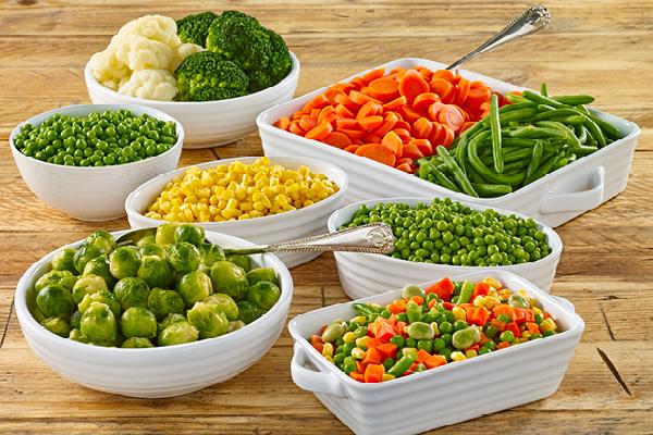 Hige Grade Frozen Vegetables