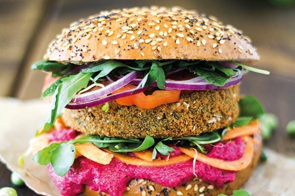 Aromatic Garden Burger