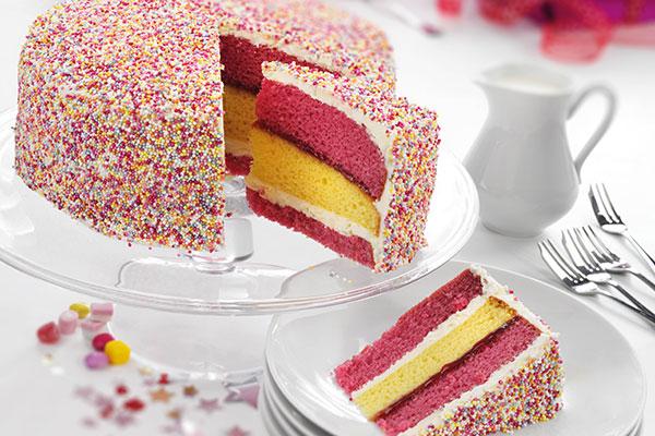 Pre-Portioned Dessert Cakes
