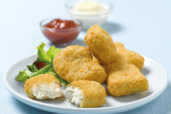 Chicken Dippers and Nuggets