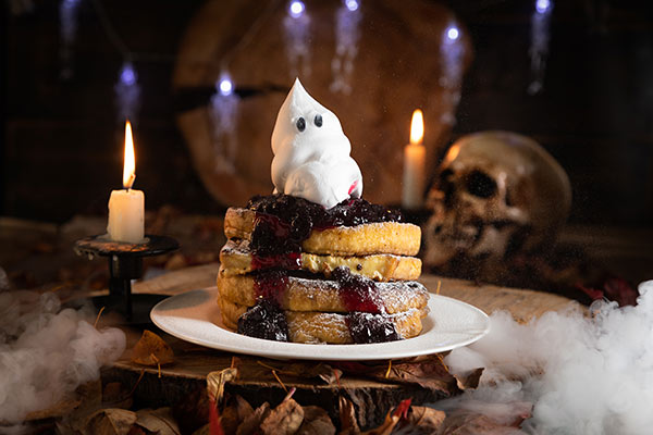 Halloween Fruity Toast