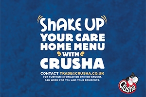 Carehomes - Get your residents drinking more milk with Crusha