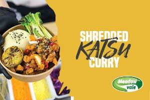 Shredded Katsu Curry