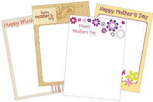 Mothers Day Menus