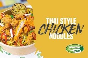 Thai Style Chicken Noodles