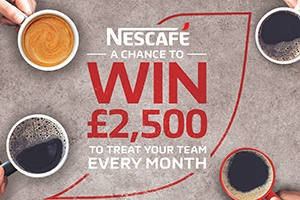 WIN £2,500 to treat your team