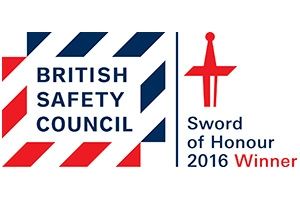 We've won the most prestigious Health & Safety Award