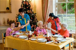 Festive Catering in the Care Industry