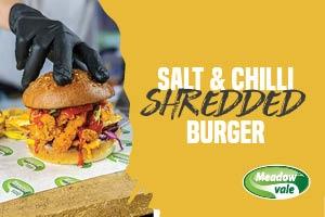 Salt and Chilli Chicken Burger