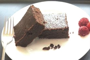 Date & Cocoa Brownies